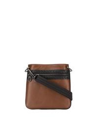 Bottega Veneta Embroidered Messenger Bag