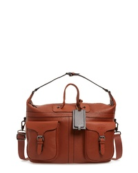 Ted Baker London Gansu Leather Holdall Bag