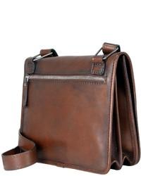 a39d4525b657 ... Pratesi Genuine Leather Crossbody Bag ...