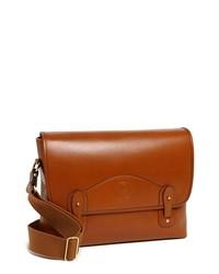 Ghurka Dispatch Leather Messenger Bag