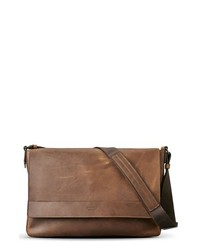 Shinola Leather Ew Messenger Bag