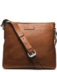 Michael Kors Michl Kors Bryant Leather Slim Messenger Bag