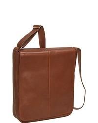 Osgoode Marley Cashmere European Messenger Bag Brandy