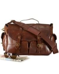Ralph Lauren Polo Bag Leather Messenger Bag