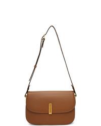 Maison Margiela Tan Co Ed Messenger Bag