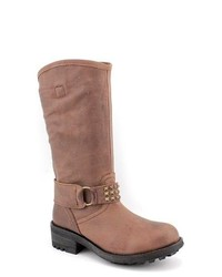 Scarpe Diem Nana Brown Leather Fashion Mid Calf Boots Eu 38