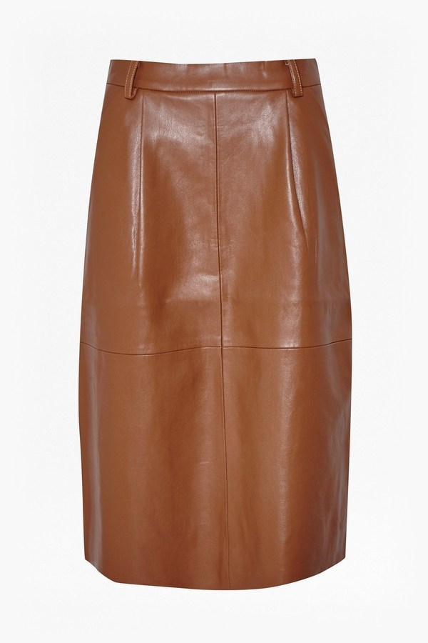 French Connection Patrice Faux Leather Skirt | Where to buy & how ...