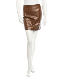 Michl kors leather skirt medium 372300