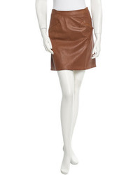 See by chlo leather skirt medium 372299