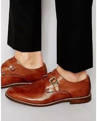 Aldo Sertino Leather Monk Shoes