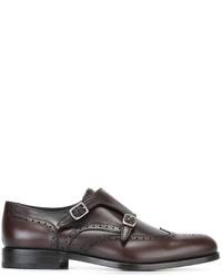 Salvatore Ferragamo Giovanni Monk Shoes
