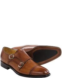Gordon Rush Williams Leather Shoes Monk Strap Slip Ons