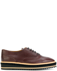 Castaner Castaer Platform Oxford Shoes