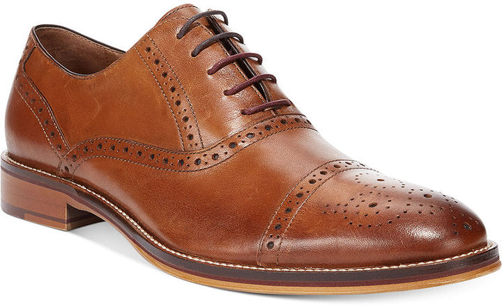 Johnston & Murphy Men's Conard Cap Toe Oxford