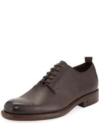 John Varvatos Fulton Grained Leather Oxford Shoe