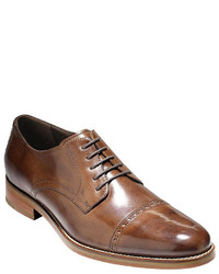 1cfa78e0c80e ... Brown Leather Oxford Shoes Cole Haan Preston Cap Toe Dress Shoes Cole  Haan Preston Cap Toe Dress Shoes ...