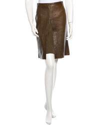 Leather skirt medium 213508