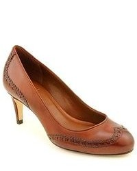 Cole Haan Violet Airpump Brown Patent Leather Pumps Heels Shoes