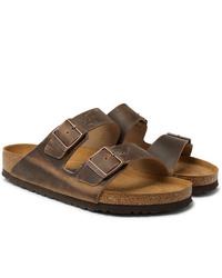 Birkenstock Arizona Oiled Nubuck Sandals