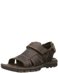 044aaab9d Men's Brown Leather Sandals by Caterpillar   Men's Fashion ...