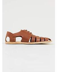 Hudson Shoes Hudson Kannur Tan Leather Sandals