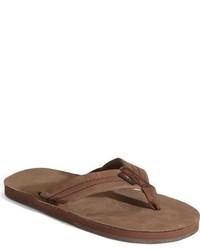 Rainbow Leather Sandal