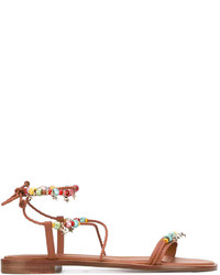 RED Valentino Valentino Beaded Sandal