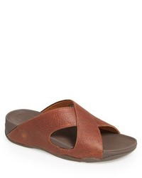 Xosa leather slide sandal medium 586285