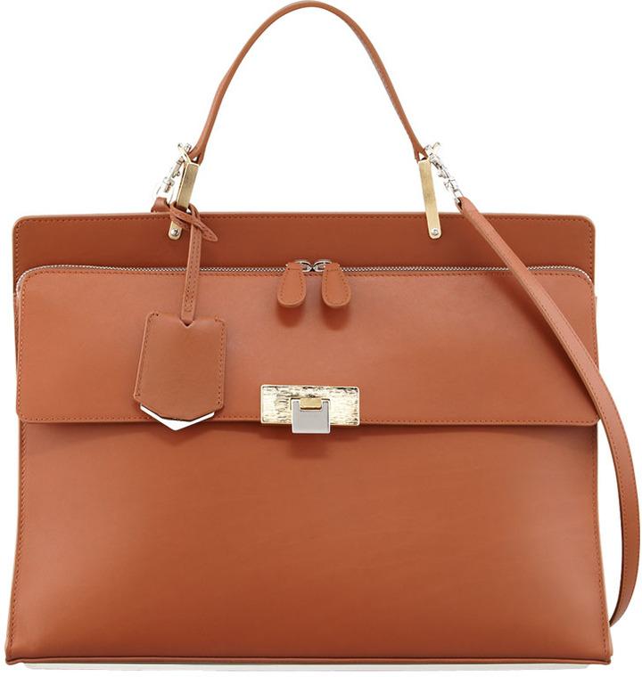 385030e715b9 Balenciaga Balenciaga Le Dix Cartable Zip Satchel Bag