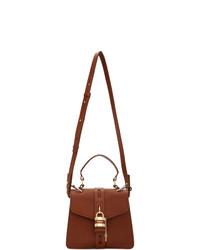 Chloé Burgundy Small Aby Bag