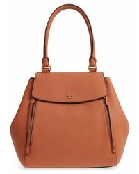 Tory Burch Half Moon Leather Tote