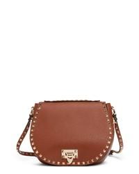 Valentino Garavani Small Leather Saddle Bag