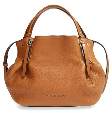 10d5f7265690 Burberry Small Maidstone Leather Satchel