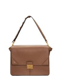 Fendi Tan Large Kan U Bag