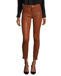 Frame Le Skinny De Jeanne Leather Skinny Jeans