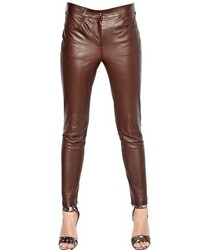 Givenchy Soft Stretch Nappa Leather Trousers