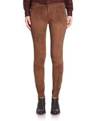 Verdugo super skinny suede pants medium 789469