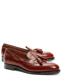 Brooks Brothers Textured Tassel Loafers