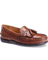 Dockers Sinclair Antique Brown Tassel Loafers