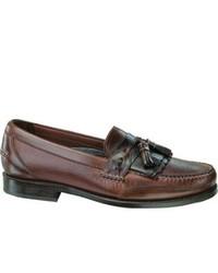 Neil M Murphy Walnutgaucho Leather Tassel Loafers