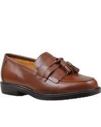 Propet Dixon Walnut Tassel Loafers