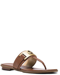 e30d4437fa4e ... MICHAEL Michael Kors Michl Michl Kors Warren Leather Thong Sandals