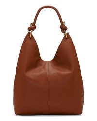 Vince Camuto Aubre Knotted Leather Hobo