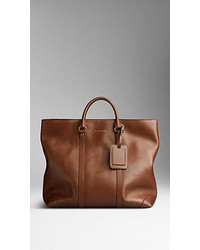 Burberry Leather Tote Bag