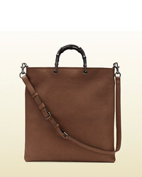Gucci Convertible Leather Tote