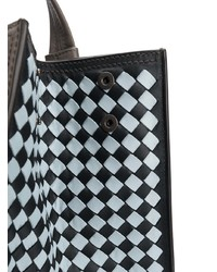 Intrecciato weave panelled tote medium 7907962