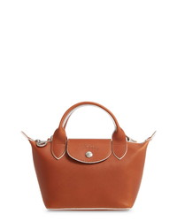 Longchamp La Pliage Cuir Small Leather Bag