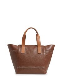 Brunello Cucinelli Leather Shopper Bag