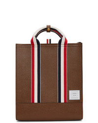 Thom Browne Leather Tote