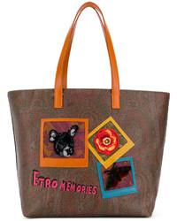 Etro Memories Tote Bag